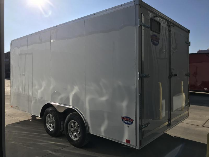 2019 United Trailer UXT 8.5X16 Enclosed Cargo Trailer....Stock# UN-166263