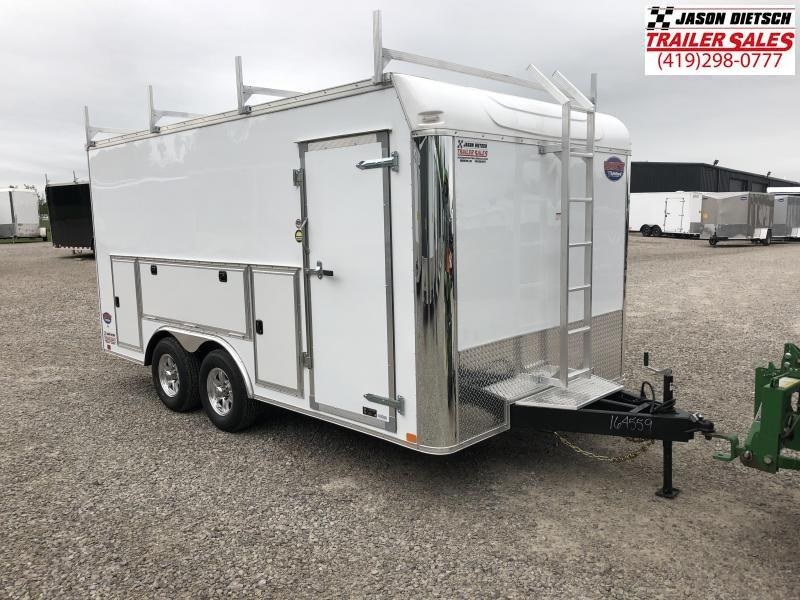 2020 United Trailers UXT 8.5x16 Enclosed Tool Crib Trailer....Stock # UN-169656