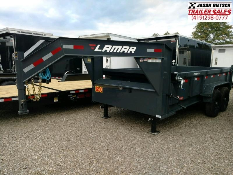 2019 Lamar Trailers 83X14 LOW PRO Dump Trailer....STOCK# LM-081989