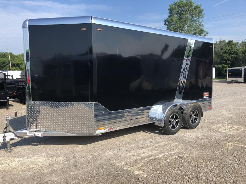 2019 Legend Manufacturing 7x17 EXTRA HEIGHT DVNTA35 Enclosed Cargo Trailer... STOCK# 317280