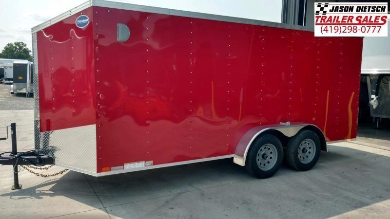 2020 United Trailers XLV 7x14 V-Nose Enclosed Cargo Trailer....Stock# UN-166144