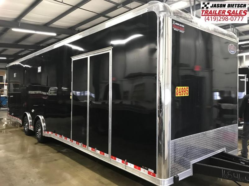 2019 United Trailers 8.5X32 Car / Racing Trailer....STOCK UN-165468