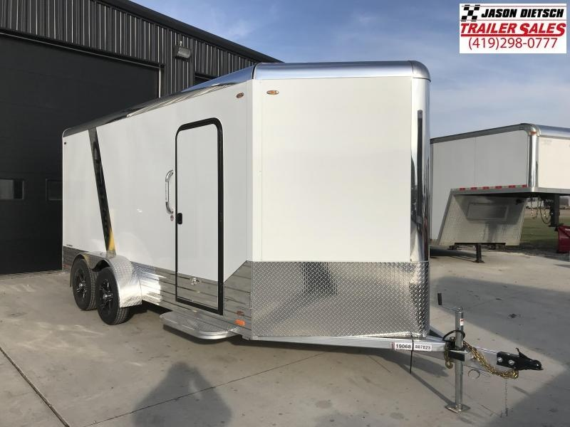 2019 Legend Manufacturing 7x19 DVN EXTRA HEIGHT Enclosed Cargo Trailer... STOCK# 317356