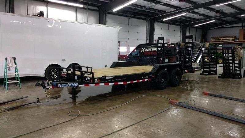 2019 Load Trail 83x18 Open Car / Equipment Trailer....STOCK# LT-183622