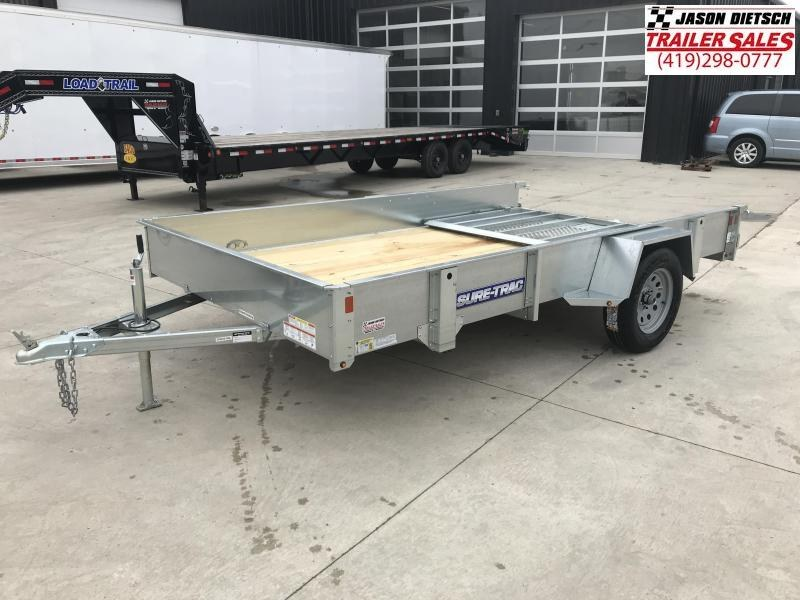 2019 Sure-Trac 7 x 12 Galvanized High Side....STOCK# ST-253383