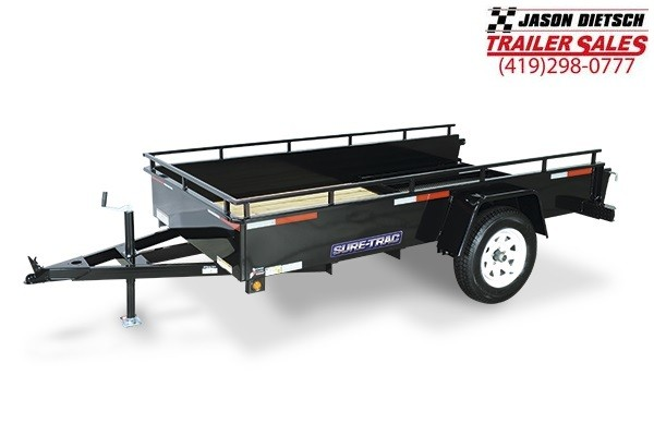 2019 Sure-Trac 6x12 Steel High Side....STOCK# ST-4808