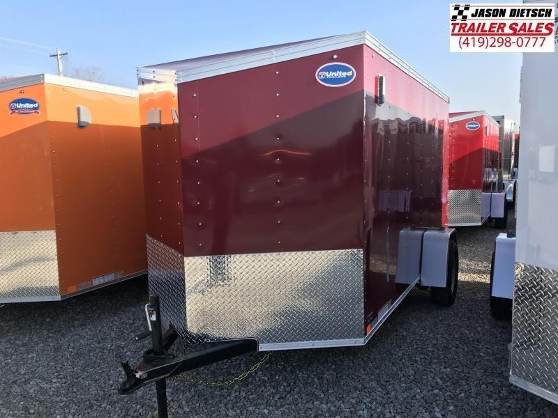 2020 United XLV 6X12 V-Nose Slant Enclosed Cargo Tr....Stock# UN-170090