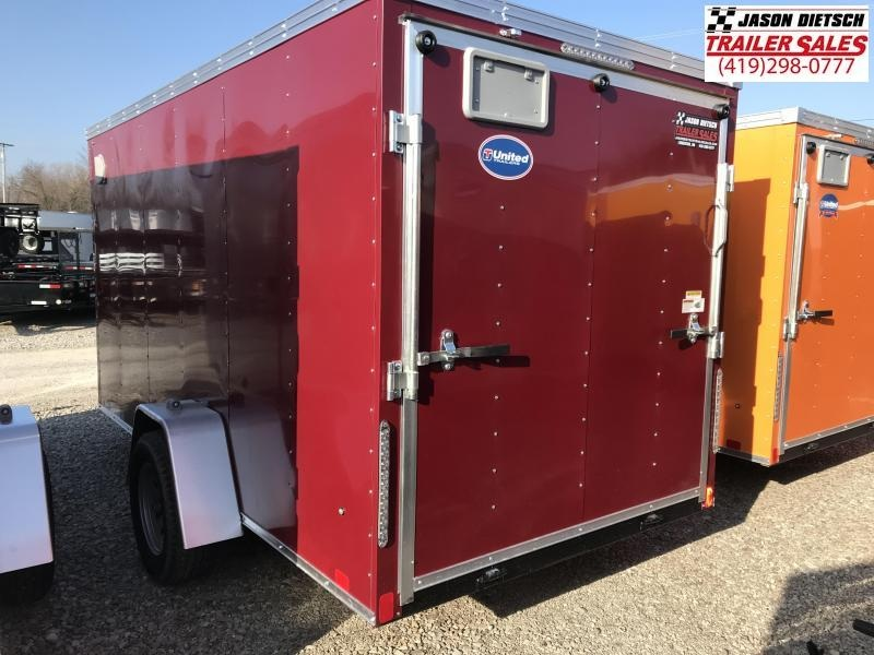 2020 United XLV 6X12 V-Nose Slant Enclosed Cargo Tr....Stock# UN-170090