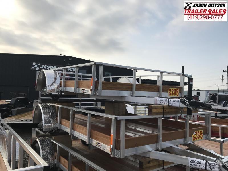 2019 Legend Manufacturing 6X10 ALUMINUM Utility Trailer....STOCK# LG-317419
