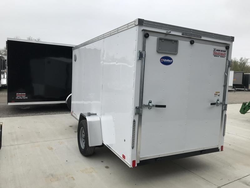 2020 United XLV 6X12 V-Nose Slant Enclosed Cargo Tr....Stock# UN-168471