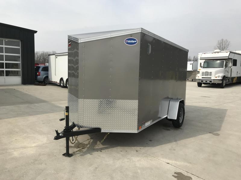 2019 United XLV 6X12 V-Nose Slant Enclosed Cargo Tr....Stock# UN-166126