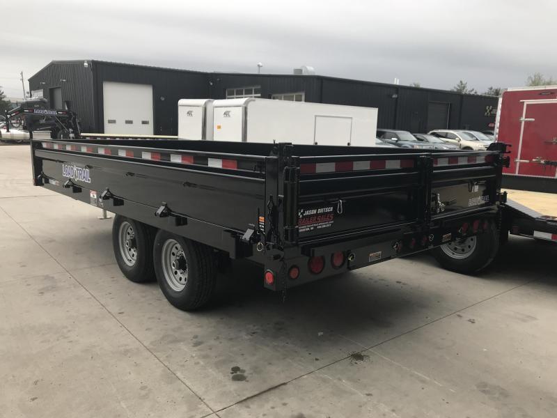 2019 Load Trail 96X16 Tandem Axle Dump Trailer....STOCK# LT-187416