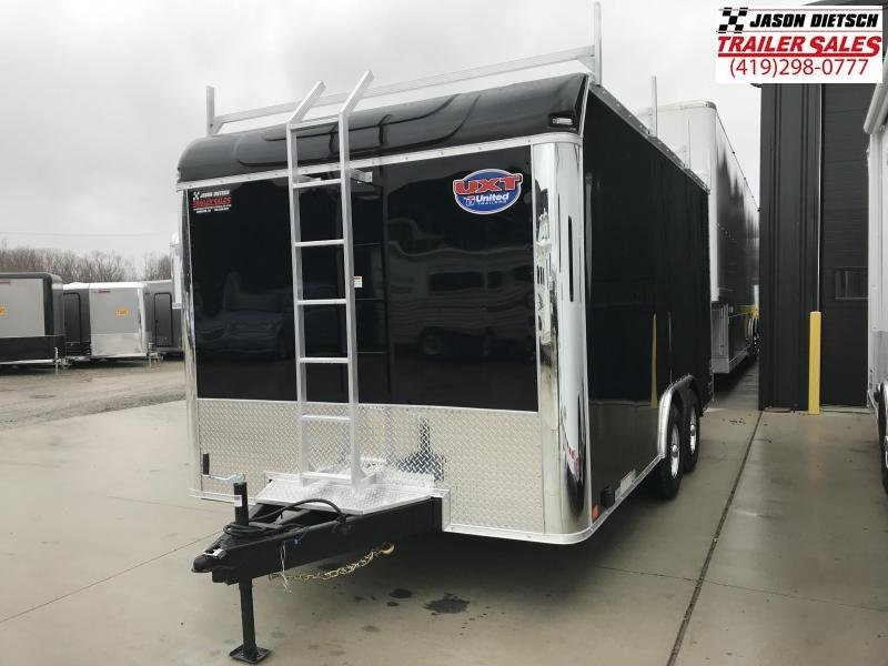 2019 United Trailers UXT 8.5x16 Enclosed Tool Crib Trailer....Stock # UN-167463