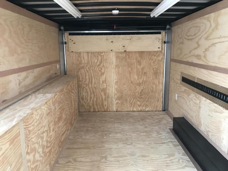2019 United Trailers UXT 8.5x16 Enclosed Tool Crib Trailer....Stock # UN-167463