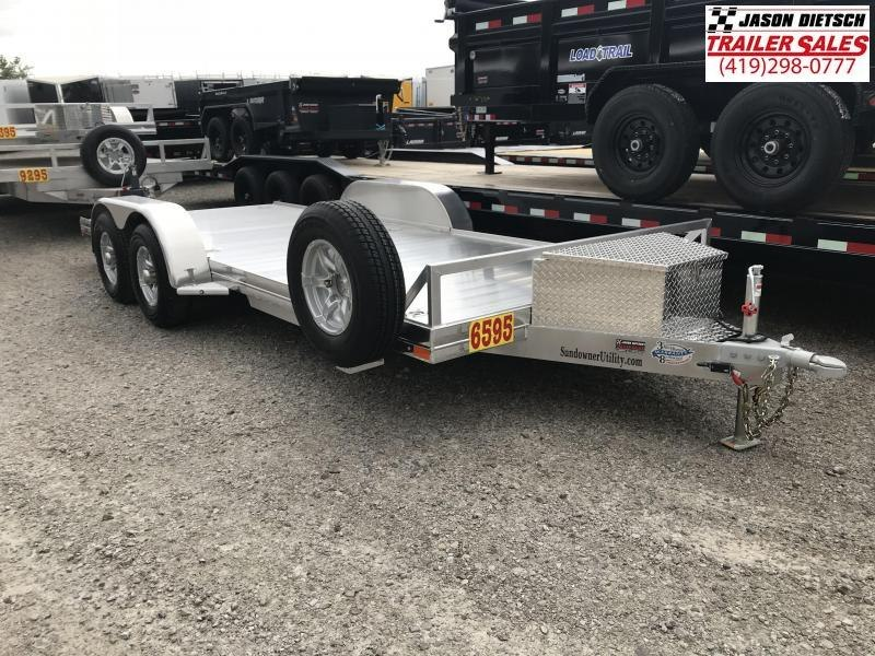 2019 Sundowner Trailers 6.9X18 Equipment Trailer....STOCK# SD-FA7599