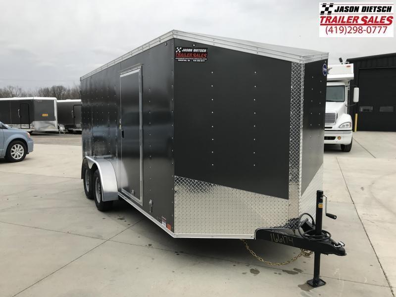 2020 United Trailers XLV 7x16 V-Nose Enclosed Cargo Trailer....Stock# UN-166174