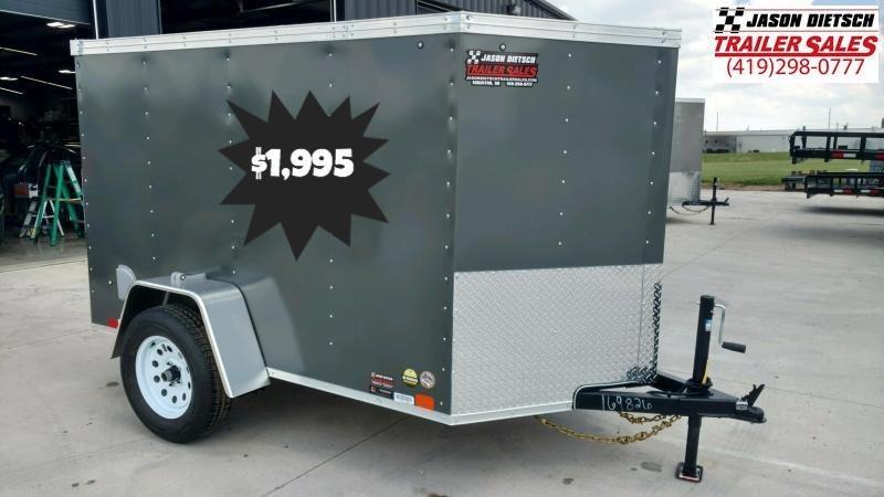 2020 United XLV 5X8 V-Nose  Enclosed Cargo Tr...Stock#UN-169826