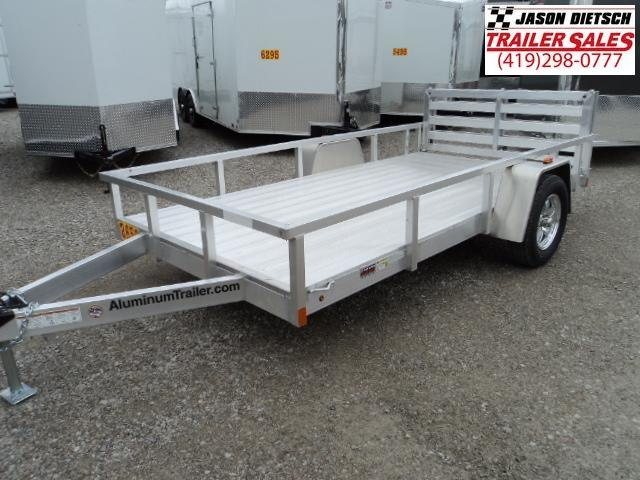 2018 ATC 6x12 All Aluminum Utility Trailer....Stock#AT-213358
