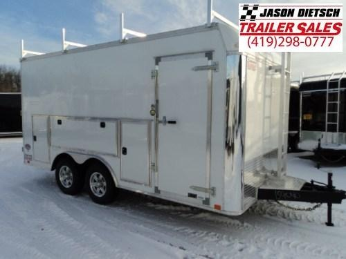 2018 United Trailers UXT 8.5x16 Enclosed Cargo Trailer Stock- 159040
