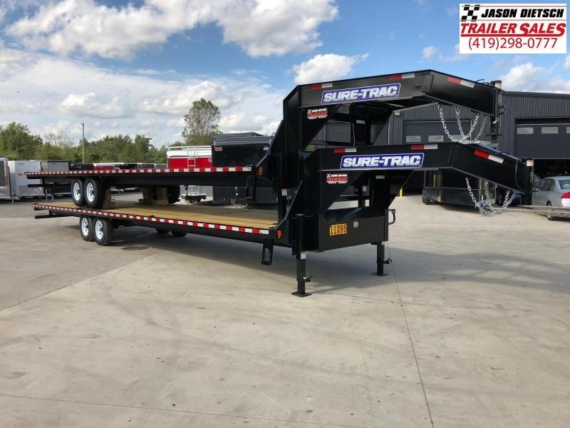 2019 Sure-Trac 8.5x36 LowPro Deckover Tandem GN 15K....STOCK# ST-254388