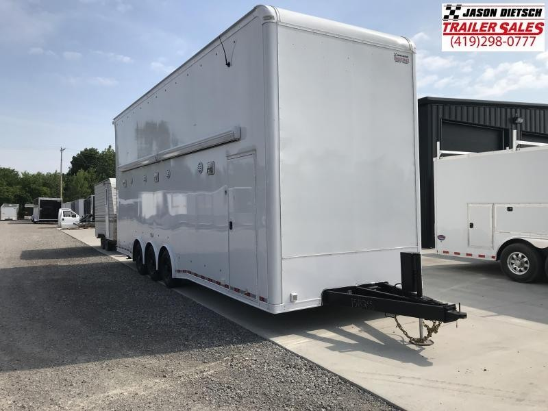2018 United Trailers USH 8.5X28 Stacker Trailer.... Stock# UN-158255