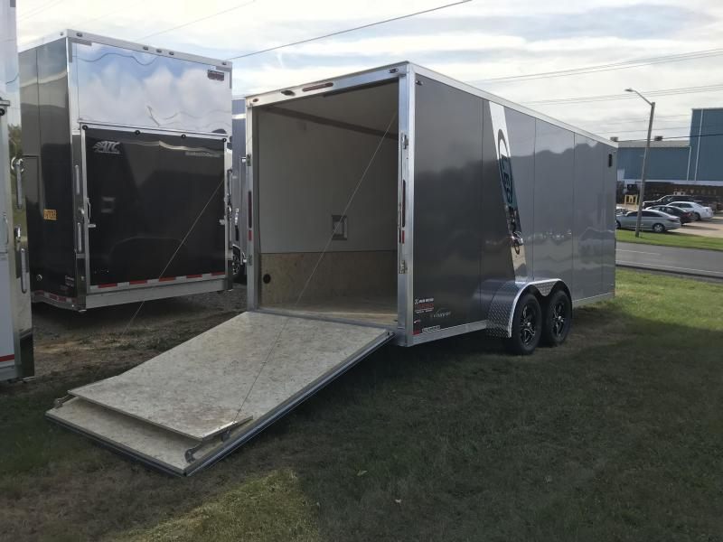 2019 Legend Manufacturing 7X23 EXPLORER EXTRA HEIGHT Snowmobile Trailer....STOCK LG-317335