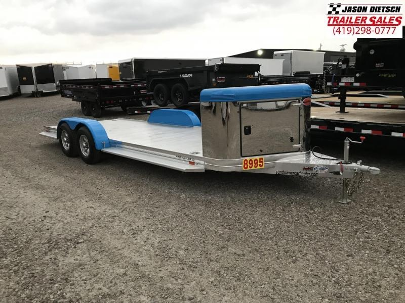 2019 Sundowner 6.9X22 Sunlite Car Trailer.... STOCK# SD-FA7596
