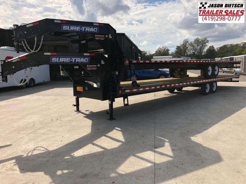 2019 Sure-Trac 8.5x36 LowPro Deckover Gooseneck....STOCK# ST-247055