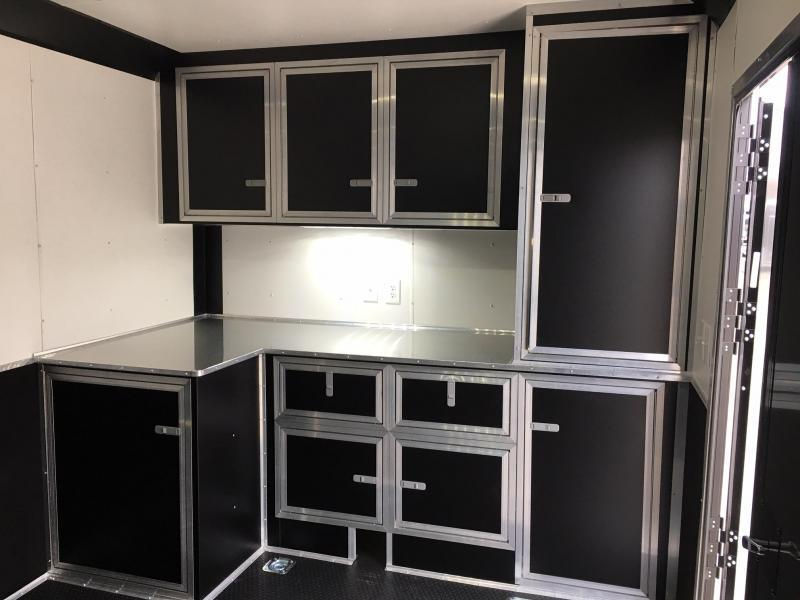 2019 United Trailer GEN 4- 8.5x28 Extra Height Enclosed Race Trailer....Stock#UN-160488