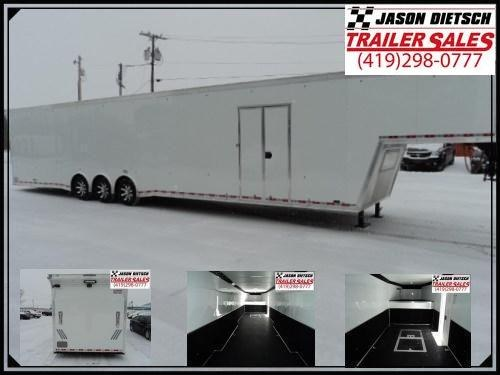 2018 United Trailers USHGN 8.5x48 Car / Racing Trailer Stock# 159705