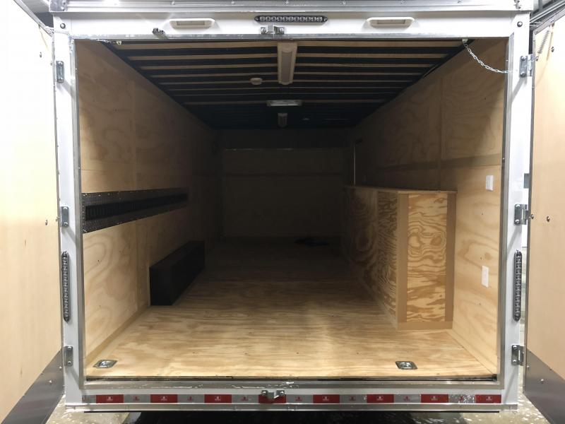 2019 United Trailer UXT 8.5x20 Enclosed Tool Crib Trailer....Stock#UN-164704