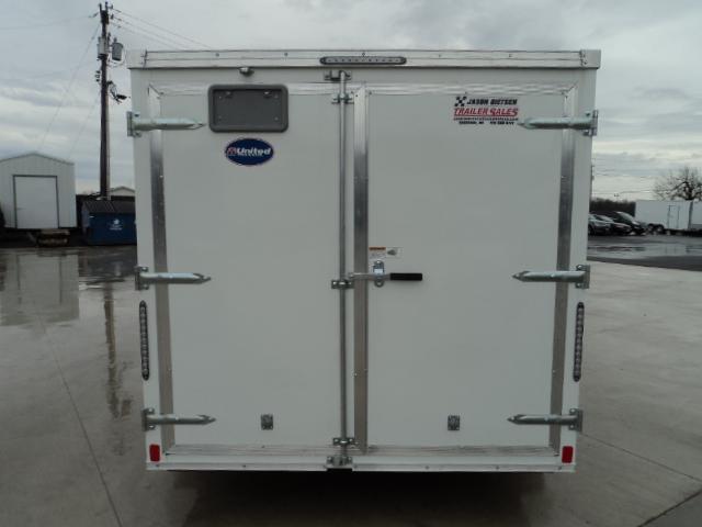 2018 United Trailers XLV 7x14 V-Nose Enclosed Cargo Trailer....Stock# UN-161396
