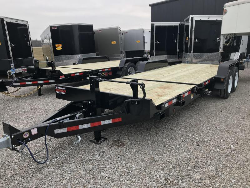 2019 Behnke 83X22 16K TILT Equipment Trailer....STOCK# BB-047896