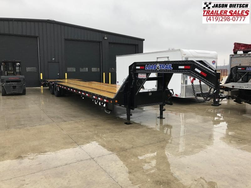 2019 Load Trail 102X40 Tandem Low-pro Gooseneck Equipment Trailer....STOCK# LT-182586