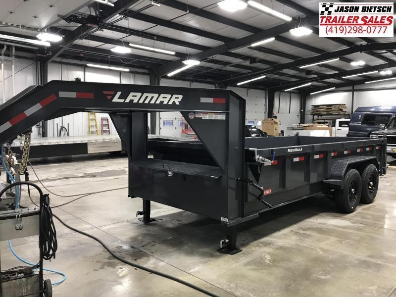 2019 Lamar Trailers 83X16 Dump Trailer....STOCK# LM-0078870