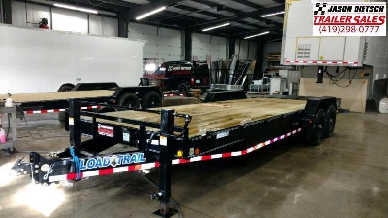 2019 Load Trail 83X24 Tandem Axle Carhauler Car / Racing Trailer....STOCK# LT-180582