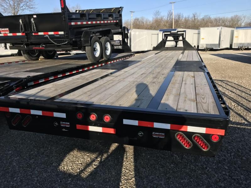 2017 Iron Bull 102x34 Tandem Axle Low Pro Gooseneck Trailer
