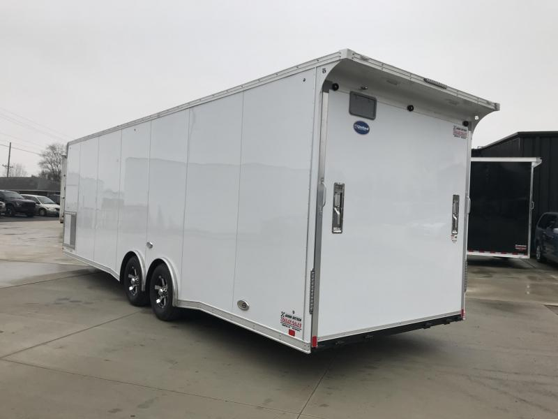 2019 United Trailer GEN#4- 8.5x28 Extra Height Enclosed Race Trailer....Stock#UN-160449