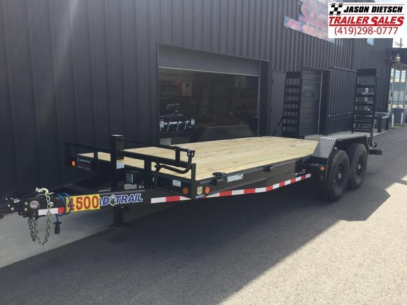 2019 Load Trail 83x18  Equipment Trailer....STOCK# LT-183761