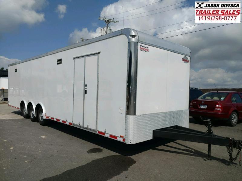 2018 forest river 8.5x34 race car trailer