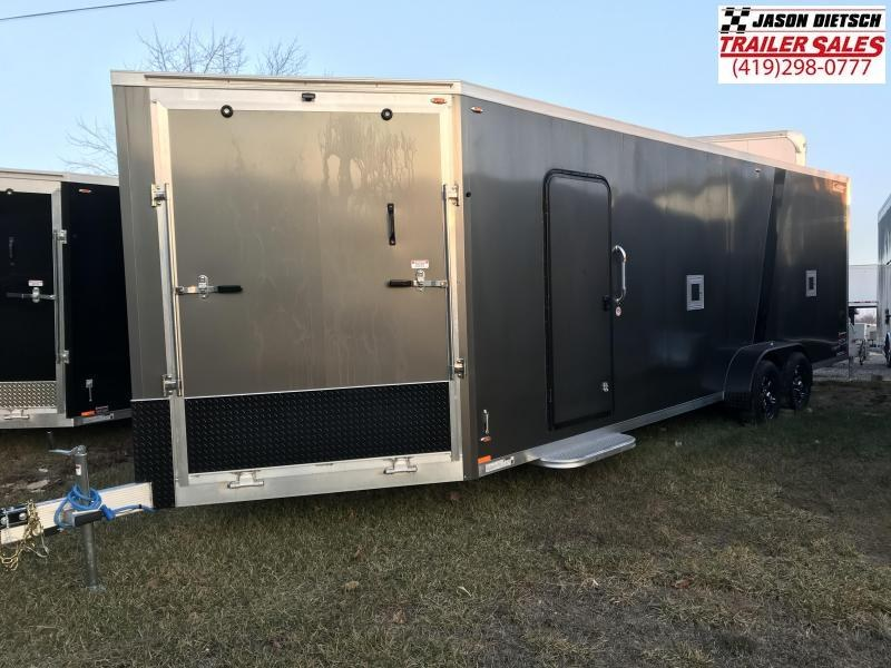 2019 Legend Manufacturing 7X29 EXPLORER EXTRA HEIGHT Snowmobile Trailer....STOCK LG-317352