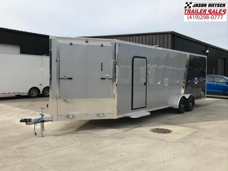 2019 Legend Manufacturing 7X29 EXPLORER EXTRA HEIGHT Snowmobile Trailer....STOCK LG-317328