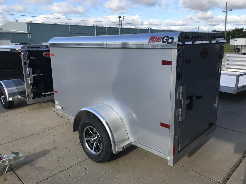 2018 Sundowner MiniGo 4X8 Enclosed Cargo Trailer....Stock#SD-CA2817
