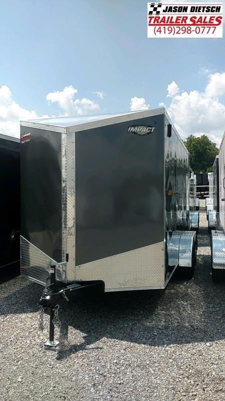 2019 Impact Trailers 7x14 EXTRA HEIGHT Enclosed Cargo Trailer....IMP001066