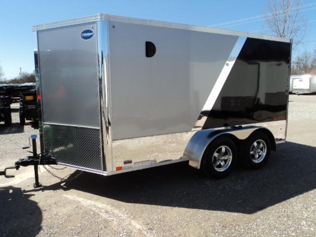 2019 United Trailers XLMTV 7x12 Wedge-Nose Enclosed Car Hauler....Stock # UN-162638