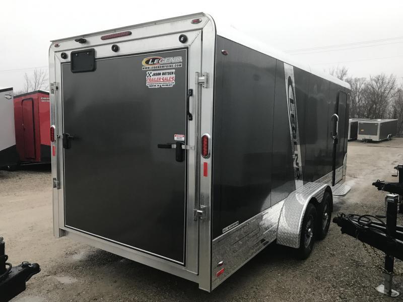 2019 Legend Manufacturing 7X21 DVN Enclosed Cargo Trailer....STOCK LG-1317355