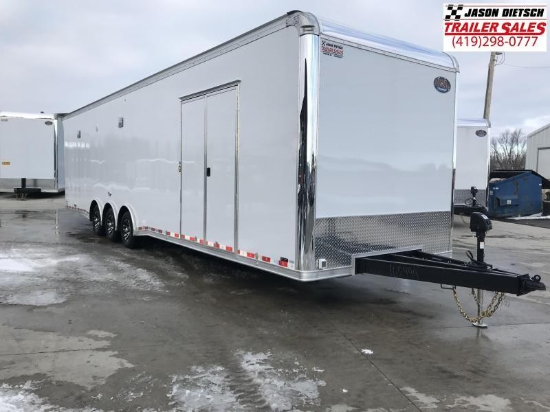 2019 United Trailers 8.5X34 EXTRA HEIGHT Car / Racing Trailer....STOCK# UN-166321