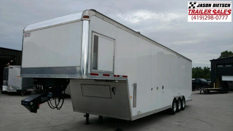 2012 8.5x 36 race trailer with bathroom package