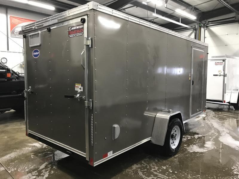 2019 United Trailers XLV-614SA30-S Enclosed Cargo Trailer....STOCK# UN-167426