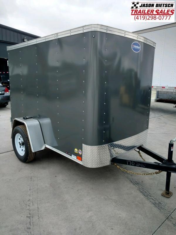 2020 United XLE 5X8 Enclosed Cargo TRAILER....Stock# UN-170240